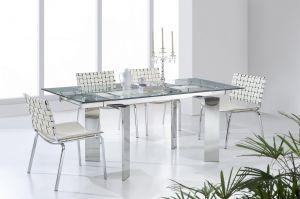 Столы и стулья:Обеденные столы:Cтол-трансформер обеденный Т-095 раздвижной