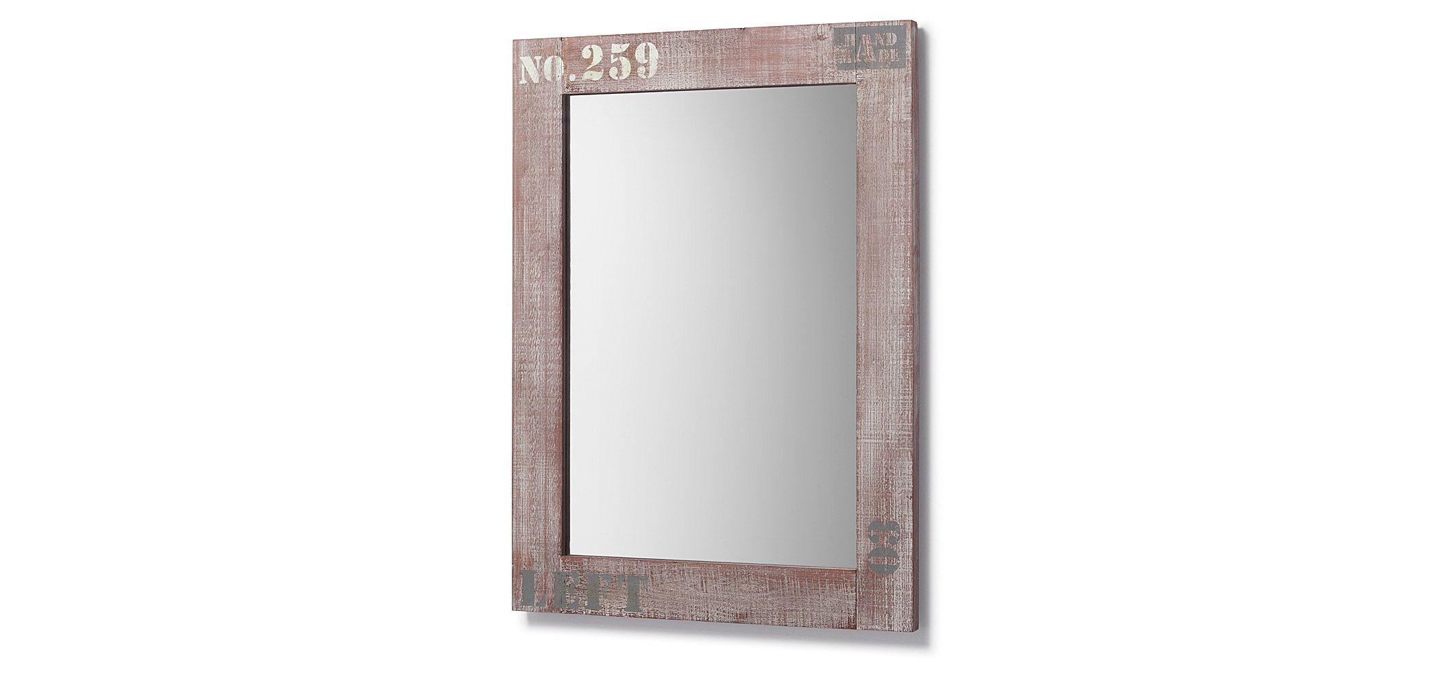 Декорировать прямоугольное зеркало