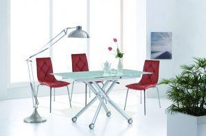Столы и стулья:Столы трансформеры:Cтол-трансформер B2145 белый