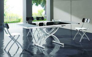 Столы и стулья:Столы трансформеры:Cтол-трансформер B2109-1 черный