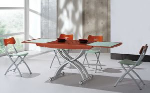 Столы и стулья:Столы трансформеры:Cтол трансформер B2138 вишня