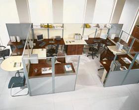 Мобильные офисные перегородки Матрица