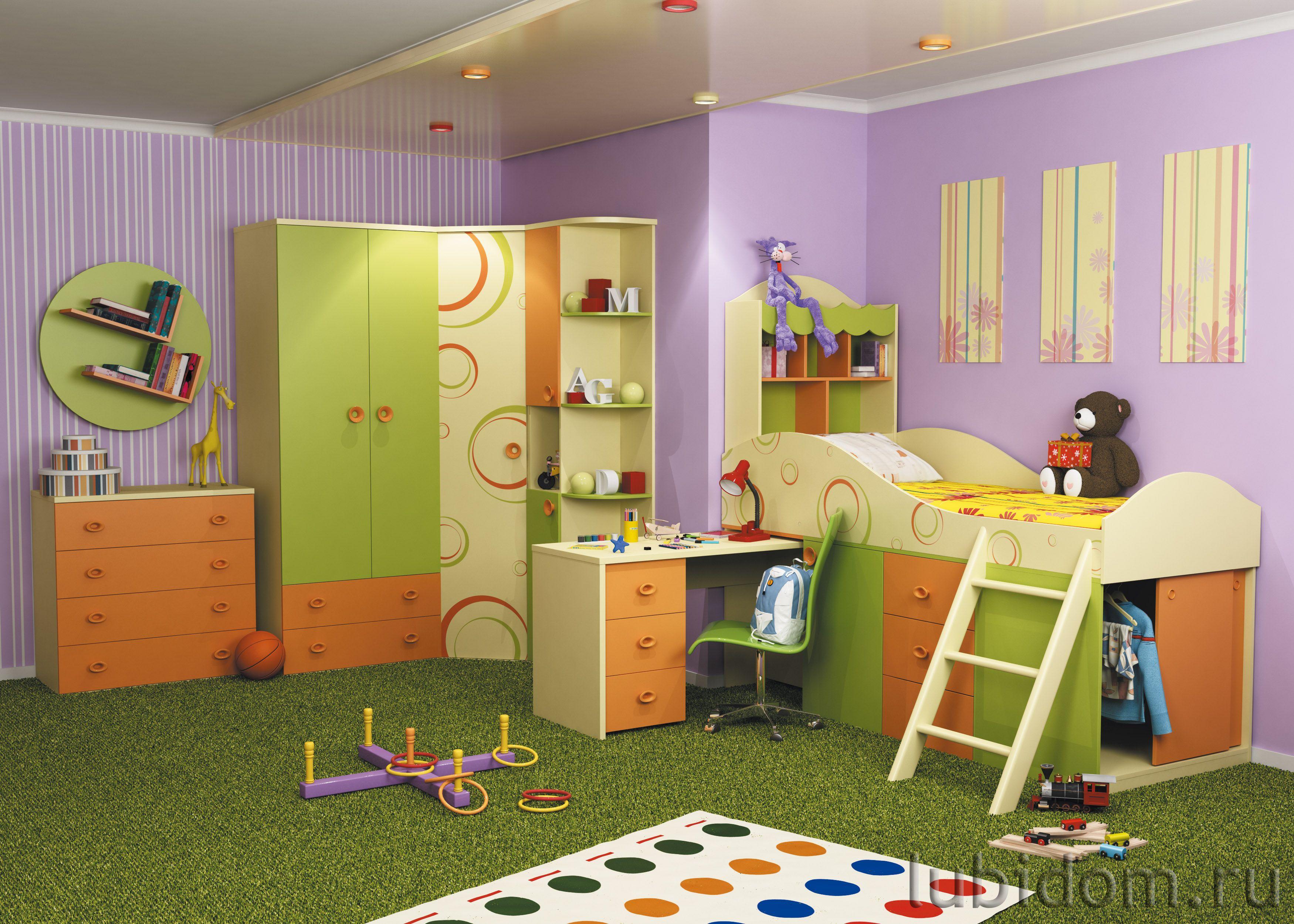 Мебель для детской «Фруттис»