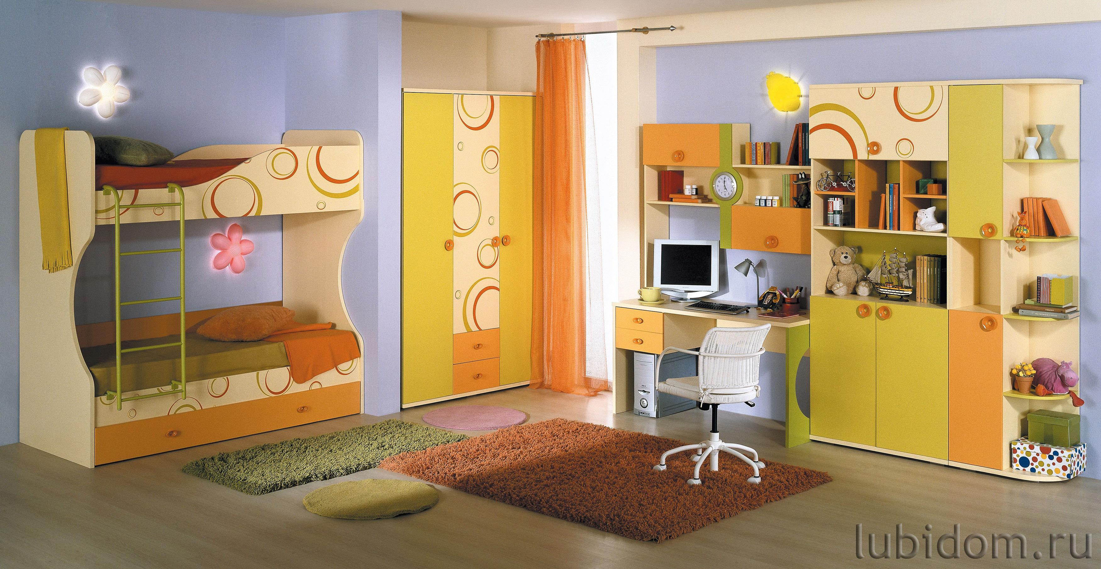 Мебель для детской «Фруттис 1»
