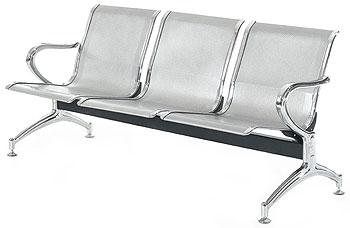 Кресла для залов ожидания со склада в Москве (многоместные секции)