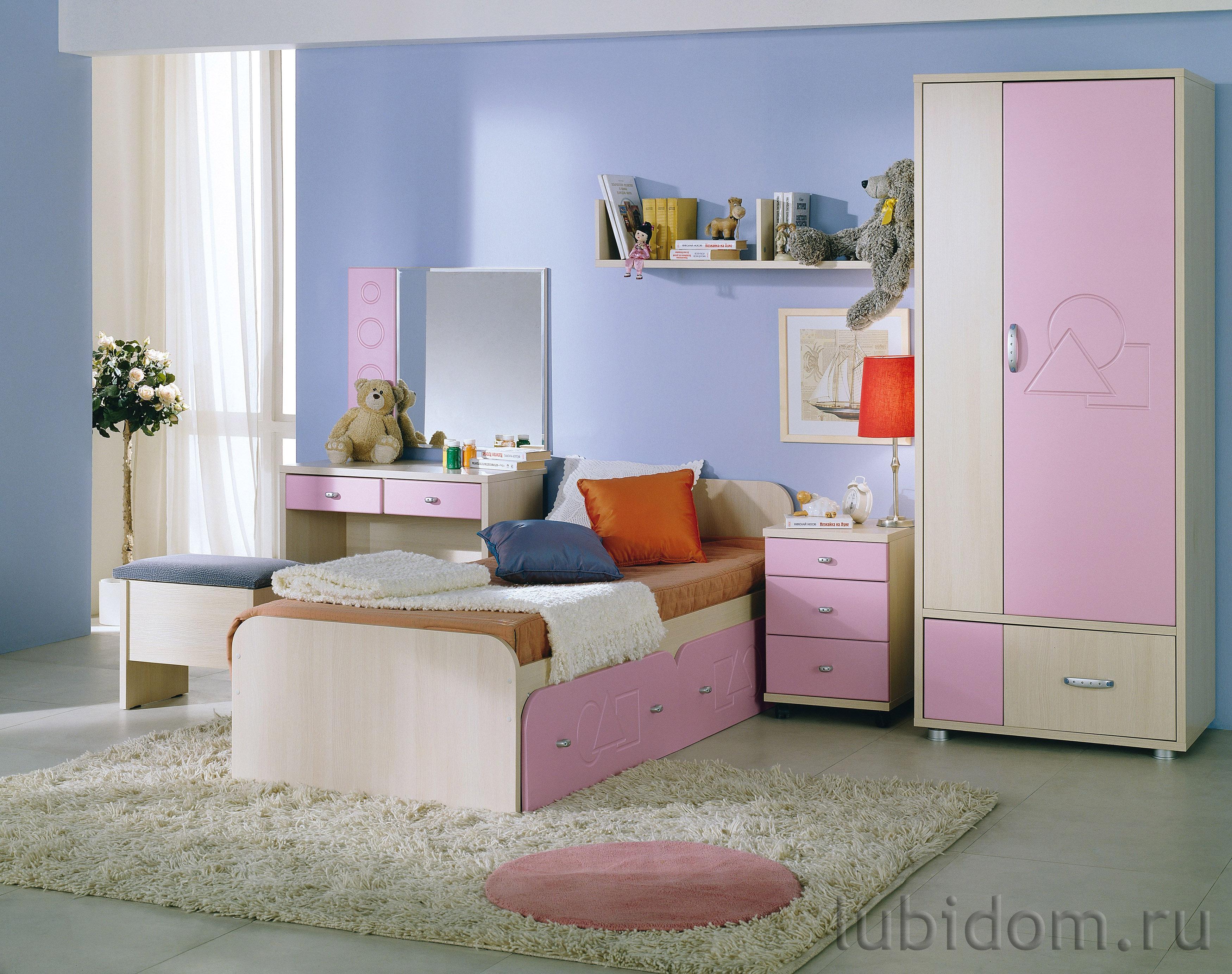 Детская «Пифагор» розовый