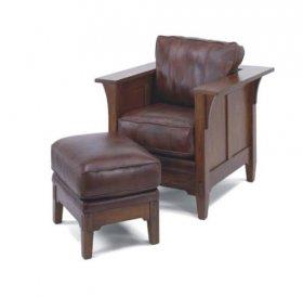 Кресло 3995-10 + Пуф 3995-08