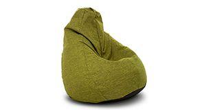 Кресло-груша Комфорт, Рогожка, Зеленый