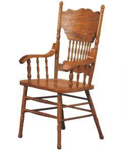Столы и стулья:Стулья для кухни:Стул CCKD - 217 A GR DARK с подлокотниками