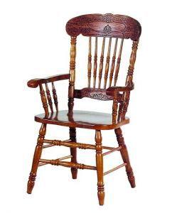 Столы и стулья:Стулья для кухни:Стул CCKD - 838 A GR GLAZE с подлокотниками (Дуб в красноту)