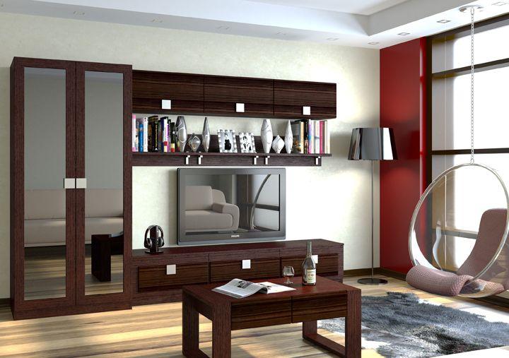 Модульная гостиная Александрия-1