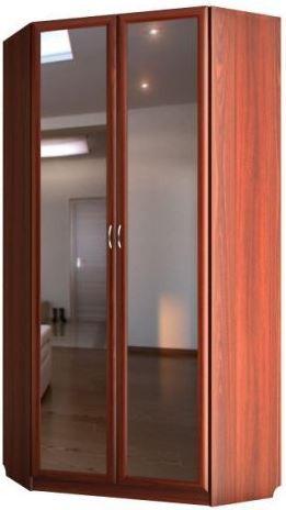 """Шкаф угловой с 2-мя зеркалами с 472/1 м - мебельная фабрика """"Волхова"""""""