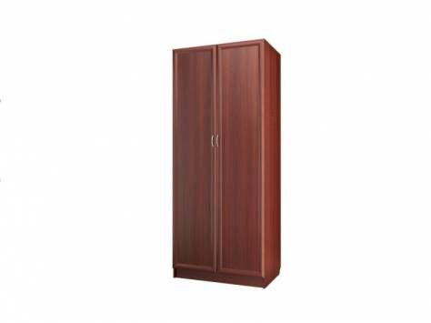 """Шкаф для платья и белья 2-х дверный С 482 М - мебельная фабрика """"Волхова"""""""