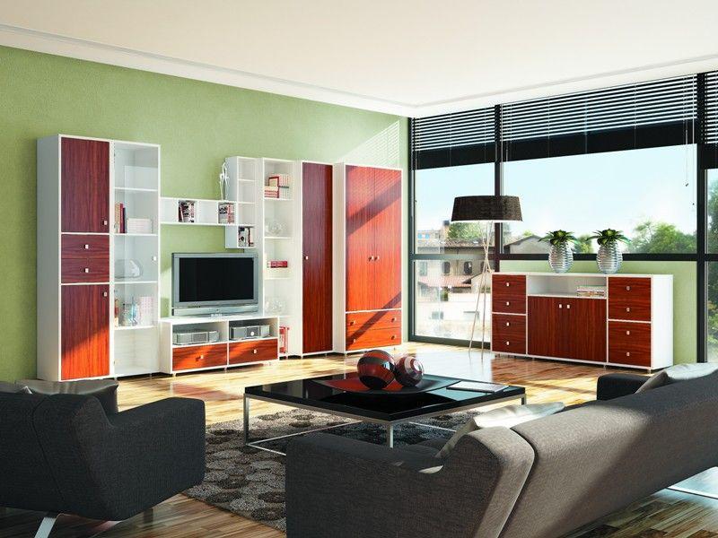 Купить белую мебель в гостиную в спб