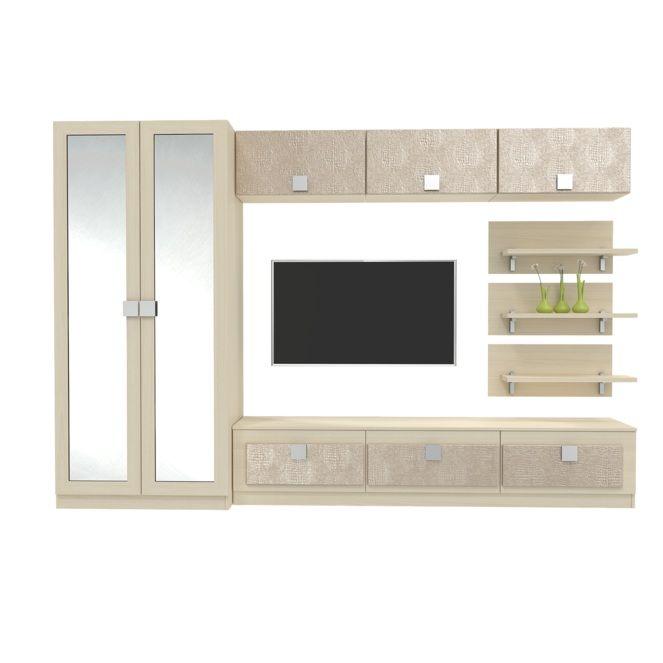 Набор мебели для гостиной Александрия Премиум