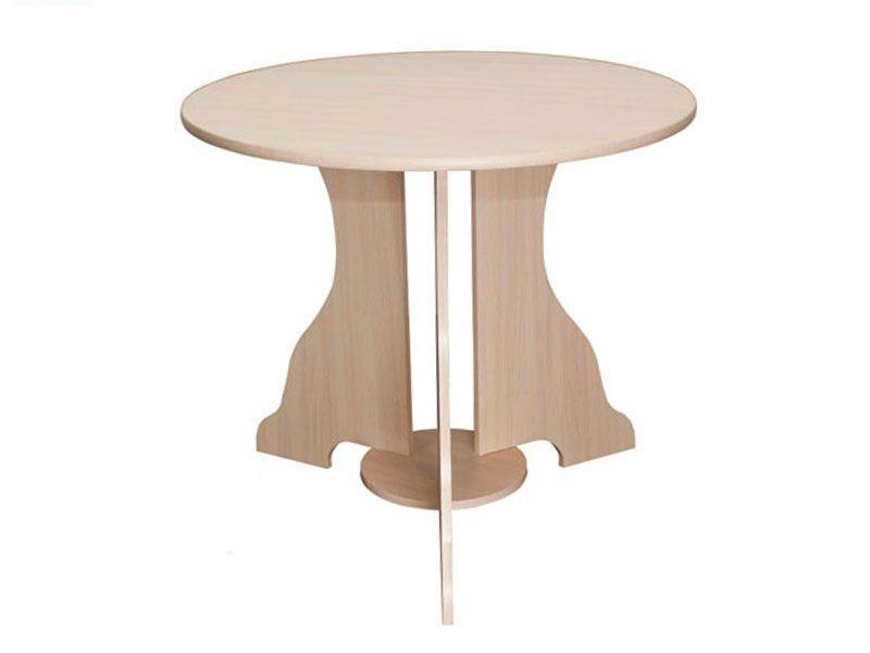 Стол №1 d-850 (дуб млечный)