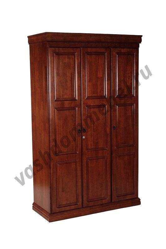 """Шкаф """"Агата"""" MK-2130-RO, цвет: Rose Oak (темная вишня)"""