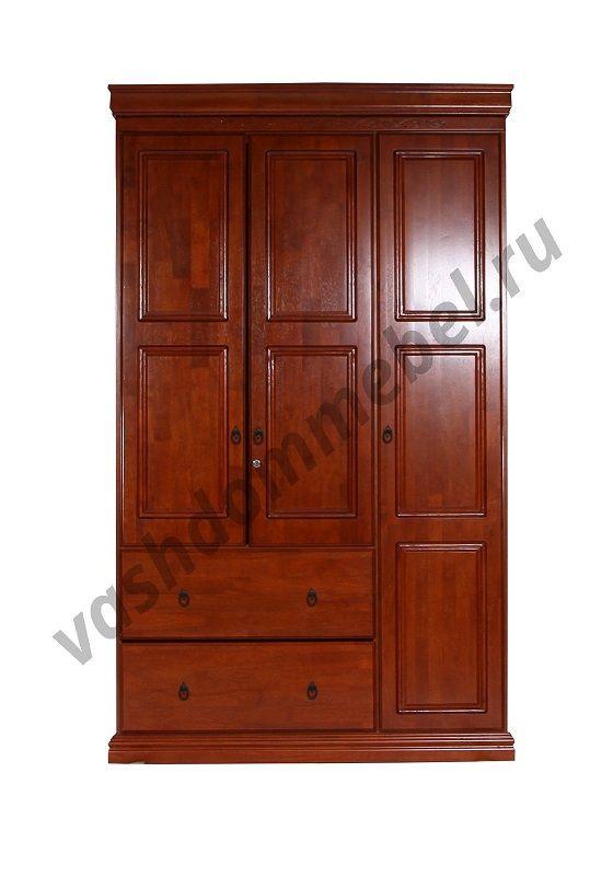 Шкаф MK-2117-RO, 124*52*215 см, цвет: Rose Oak