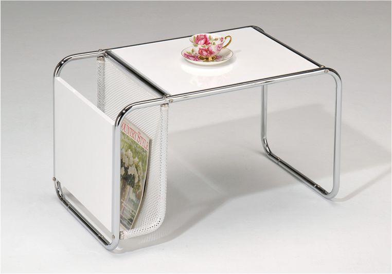 Столик кофейный с газетницей SR-0767-WT
