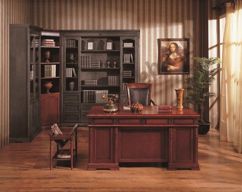 "Шкаф книжный угловой MK-1736-CR CORNER, 70х70х220 см, ""вишня"""