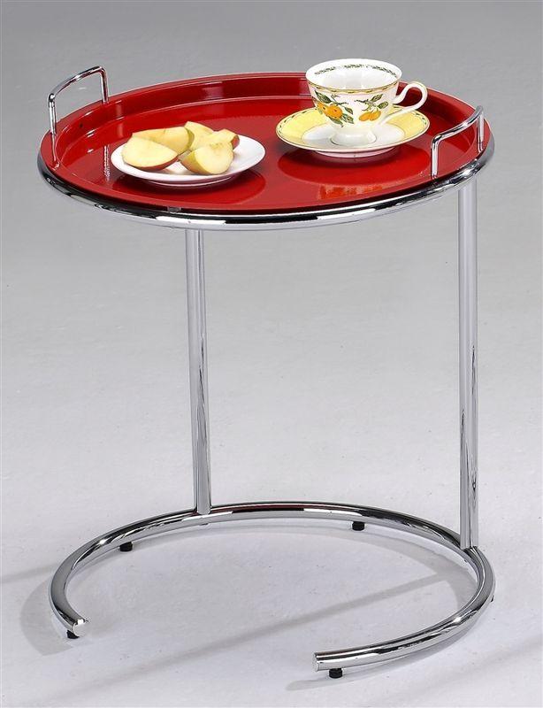 Столик кофейный со съемным подносом SR 0929-RD