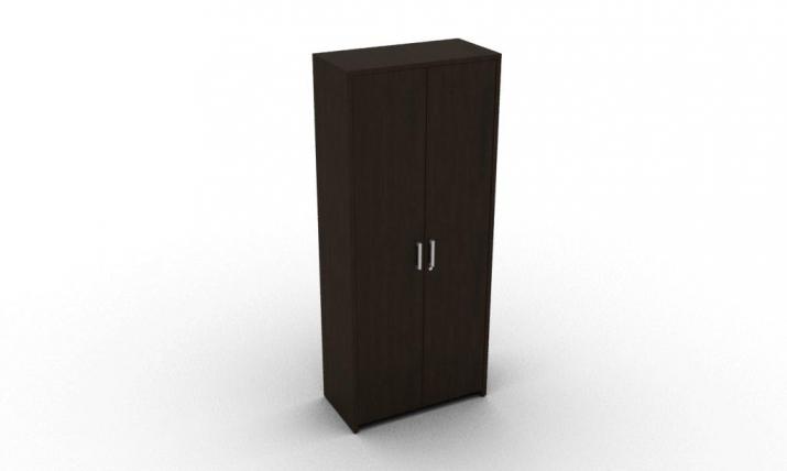 шкаф для одежды кабинет руководителя Акцент Люкс ЛКО-85.1