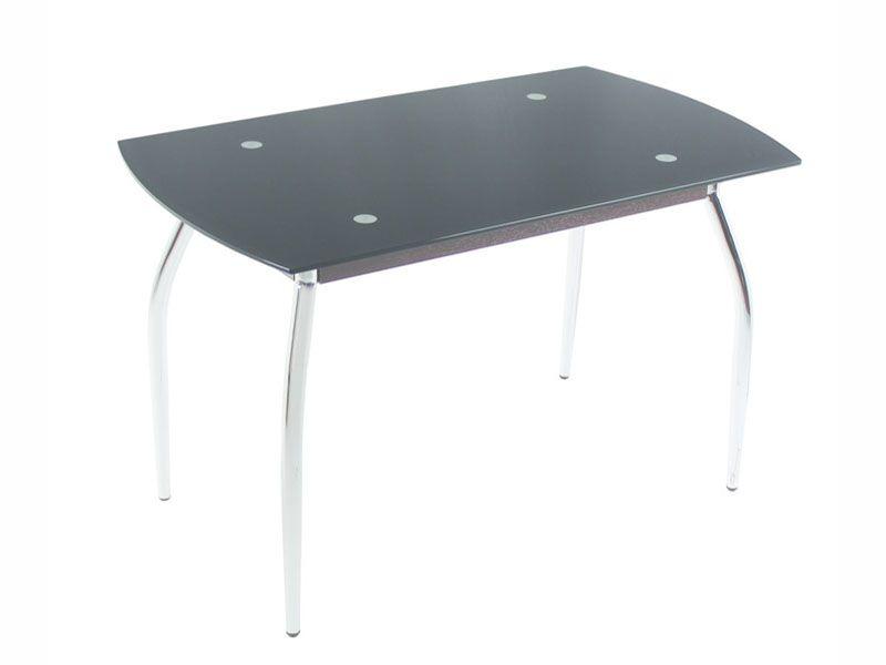 Обеденный стол 5.0 черный перламутр