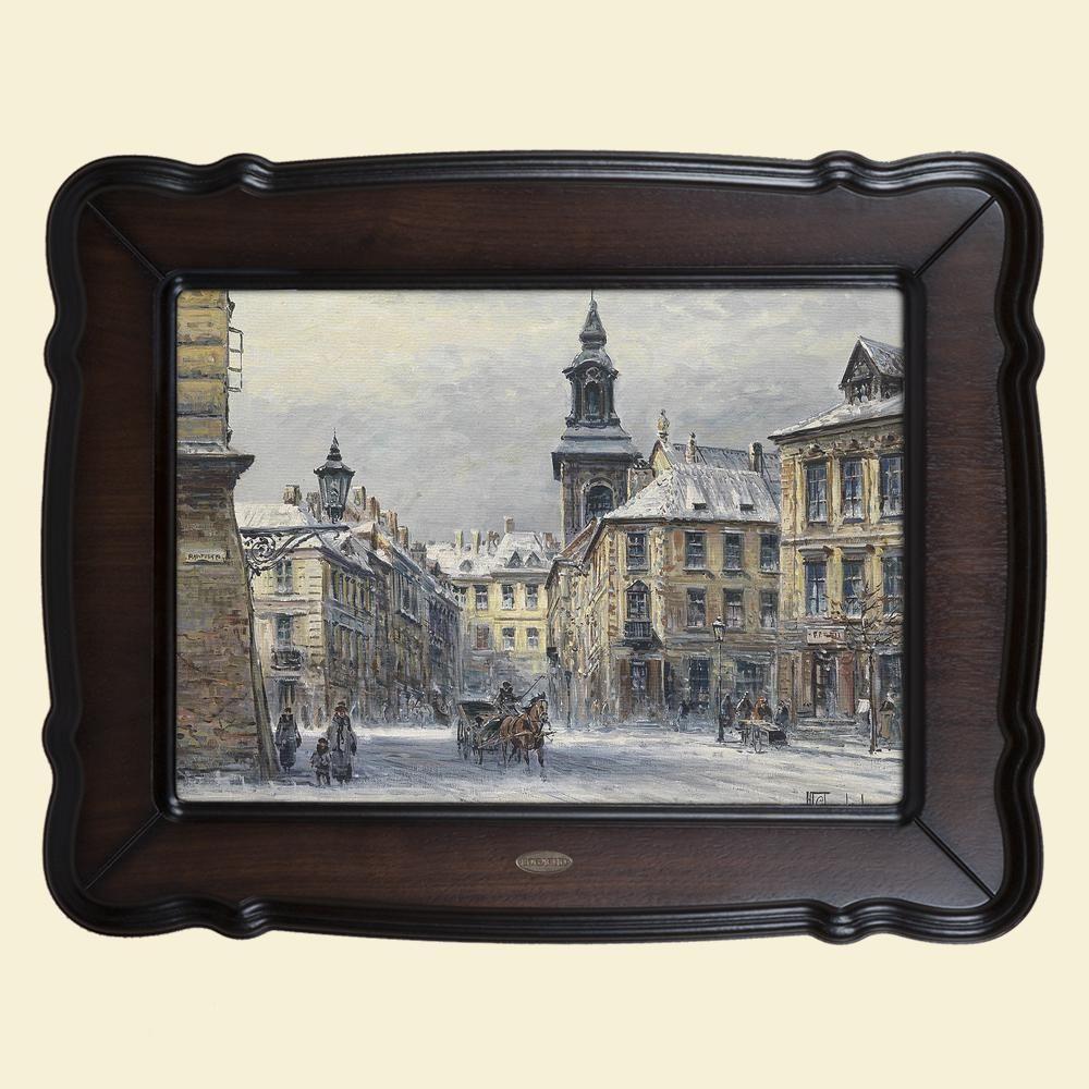 Картина «Вид на город»