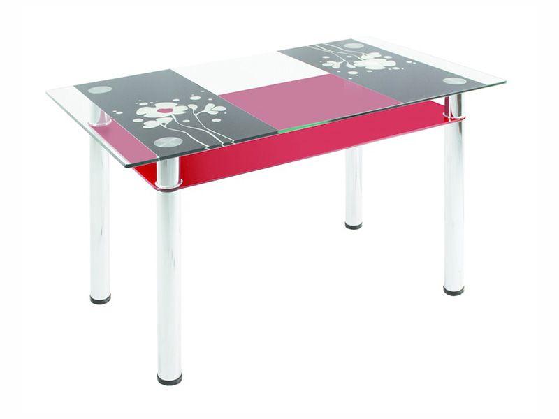 Обеденный стол 3.7 (красный)