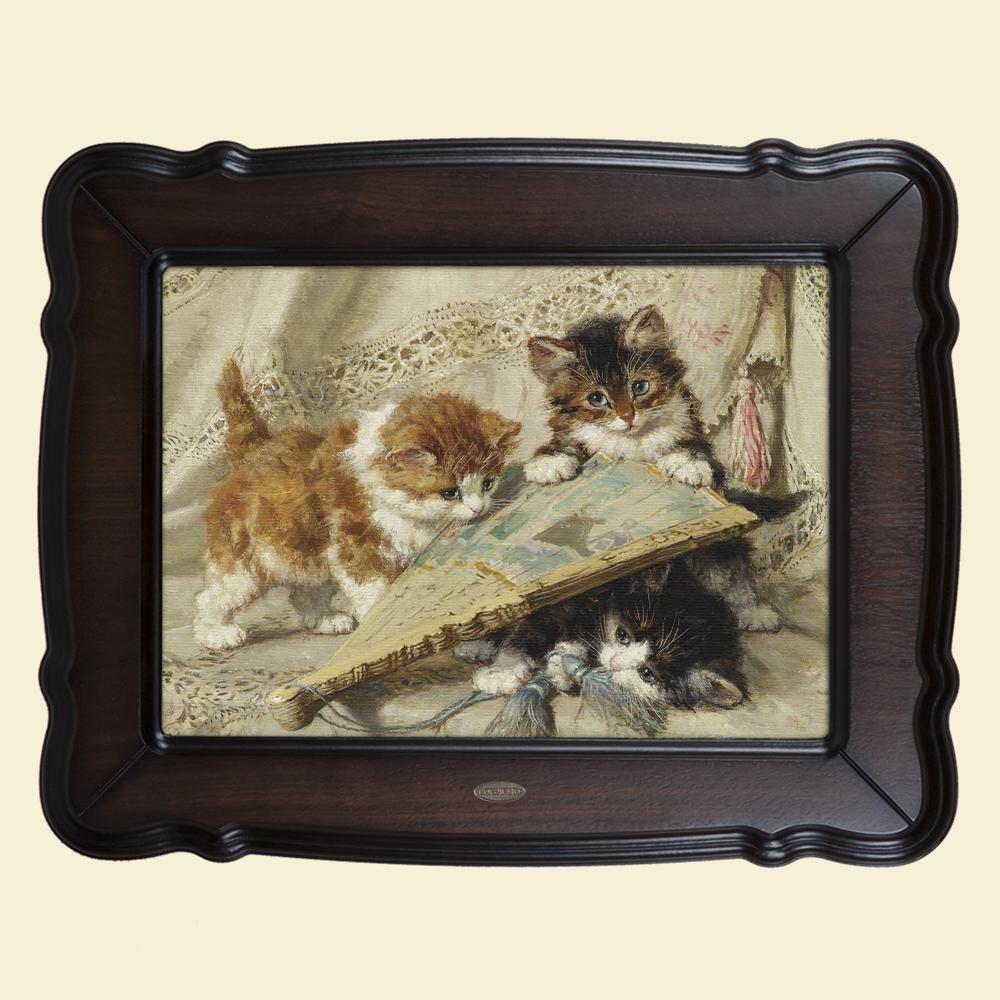 Картина «Котята и веер»