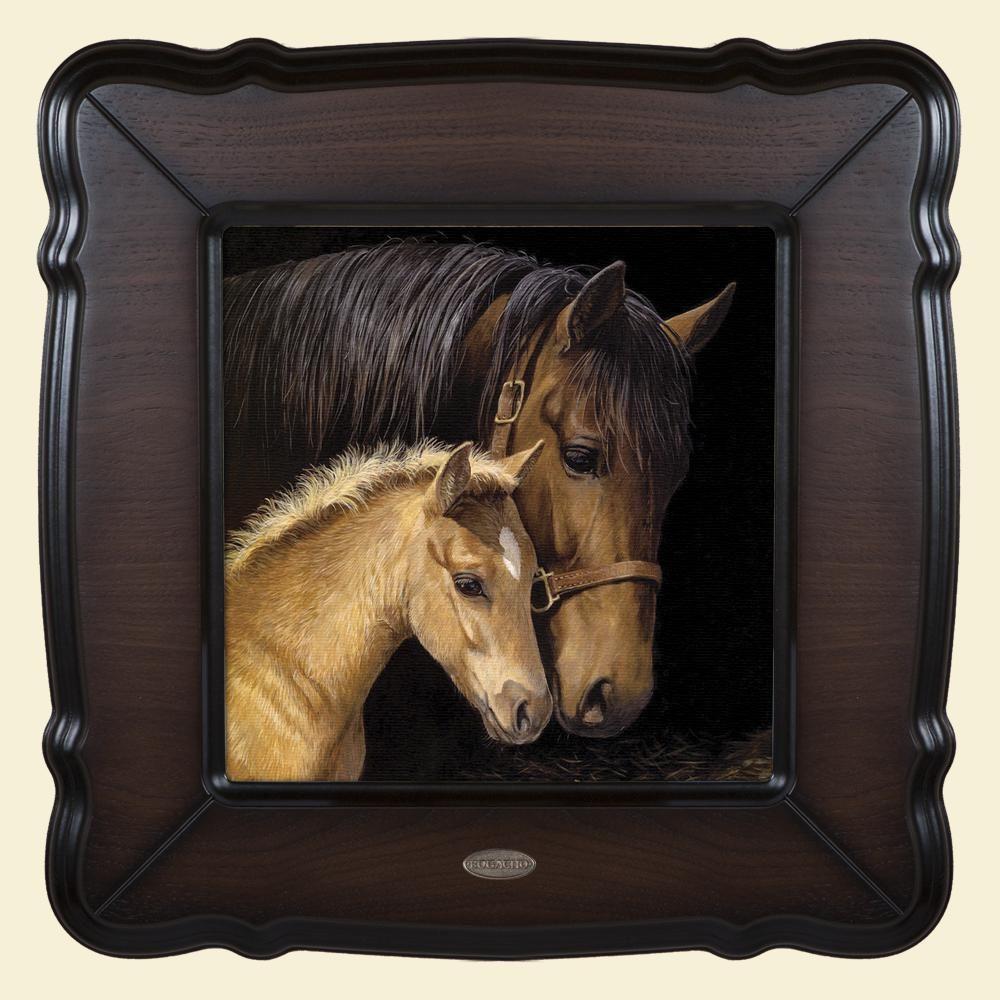 Картина «Лошадь и жеребёнок»