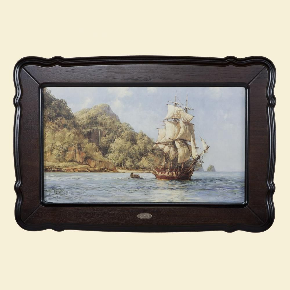 Картина «Парусники, остров сокровищ»