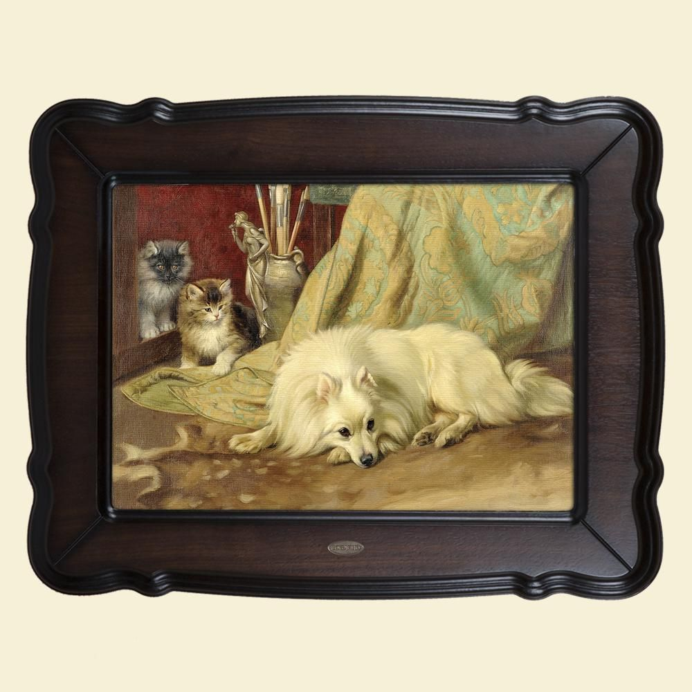 Картина «Пес и кот»