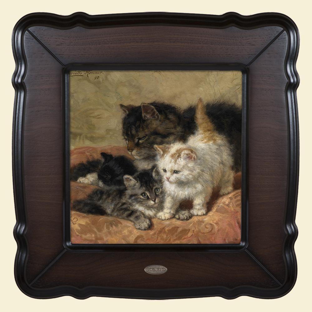 Картина «Три котёнка»