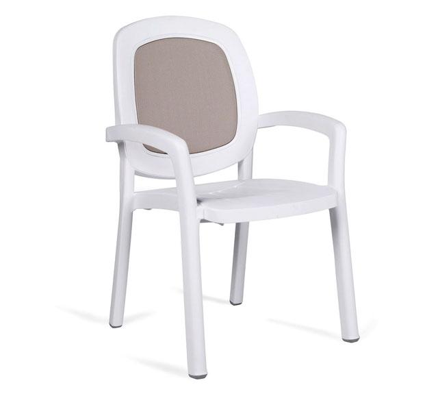 "Кресло beta ""bianco tortora"""