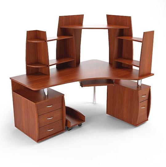 Компьютерный стол с надставками ПС 04.61.J