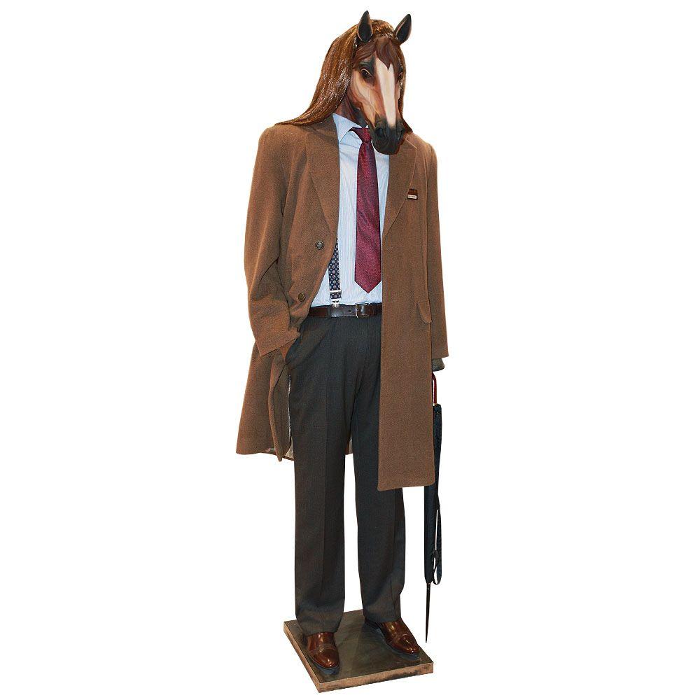 Конь в пальто - Кукла коллекционная
