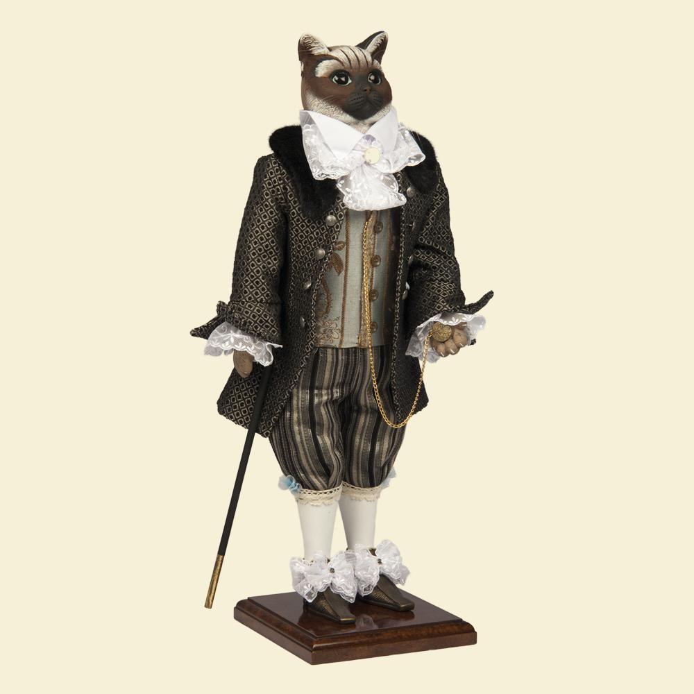 Кот Виконт - Кукла коллекционная