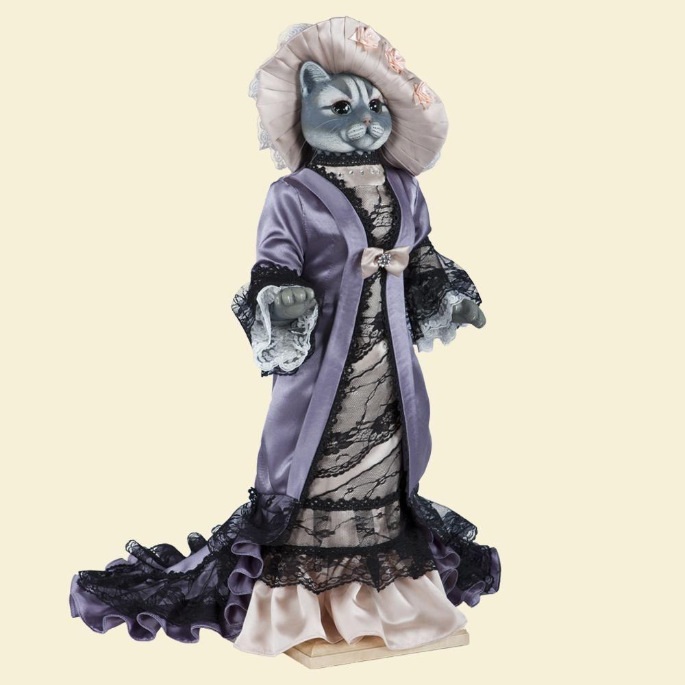 Кошка Леди Макбет - Кукла коллекционная