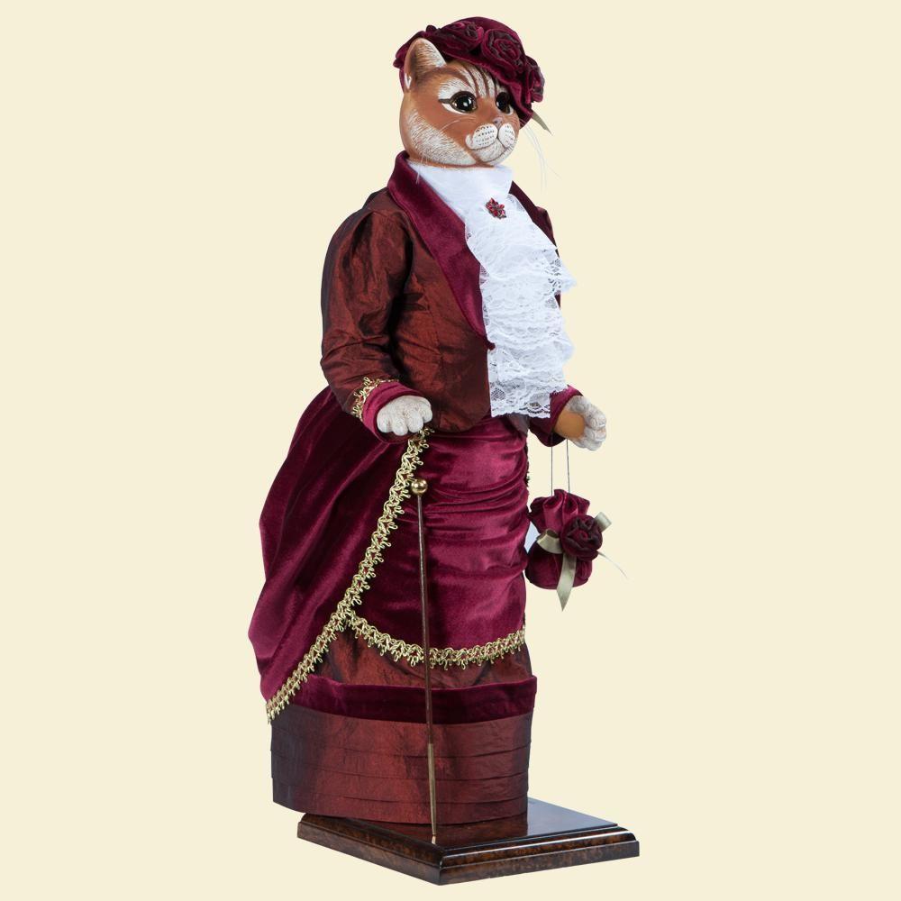 Кошка Леди Парр - Кукла коллекционная