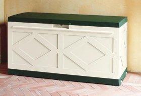 Контейнер для подушек maxi BOX зеленый-белый