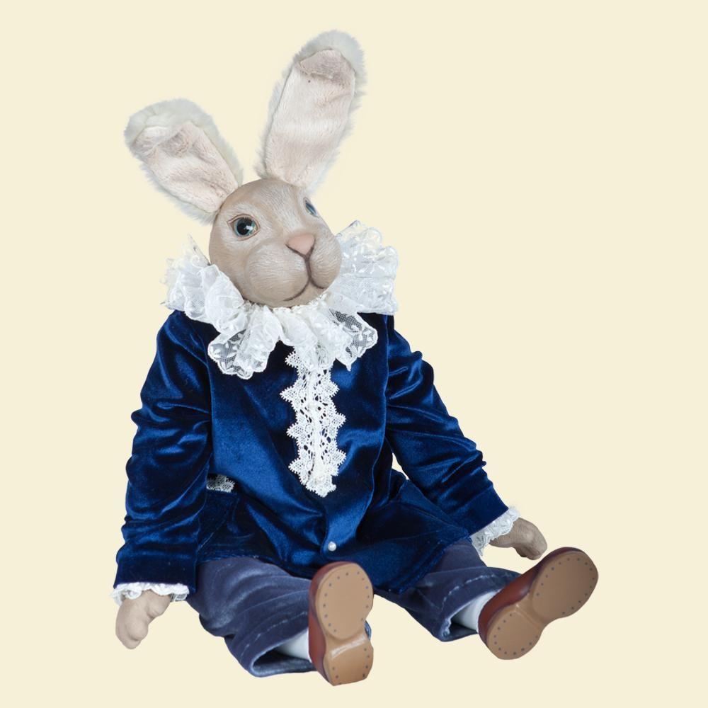 Кролик Эдвард - Кукла коллекционная