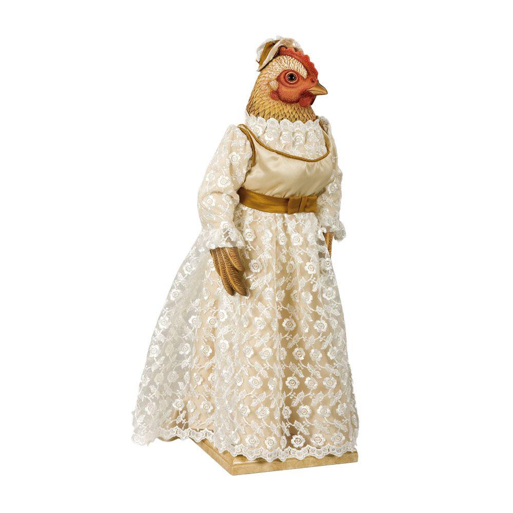 Курица Жозефина - Кукла коллекционная