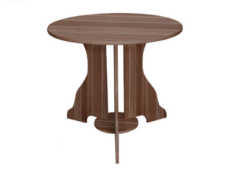Стол №1 d-850 (орех лион)