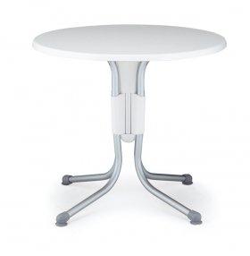 Стол круглый складной для уличного кафе Polo, верзалит, диаметр 80