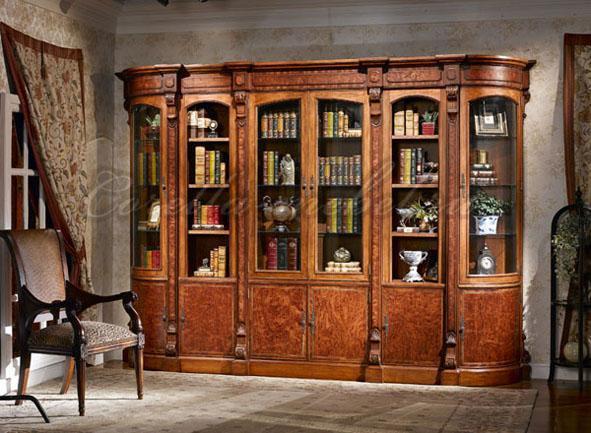 Книжный шкаф классический однодверный Артикул: LV-551-1