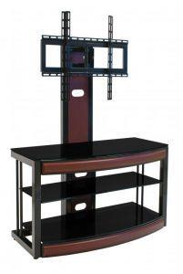 Тумбы под телевизор и аппаратуру:Стойки под телевизор с креплением:Стойка под телевизор Akur Omega с плазмастендом
