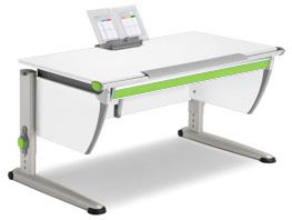 Письменный детский стол MOLL RUNNER CLASSIC white