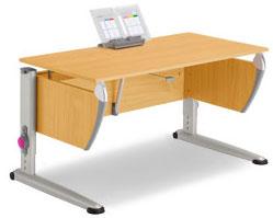 Детский стол (парта для школьника) MOLL SPRINTER CLASSIC beech
