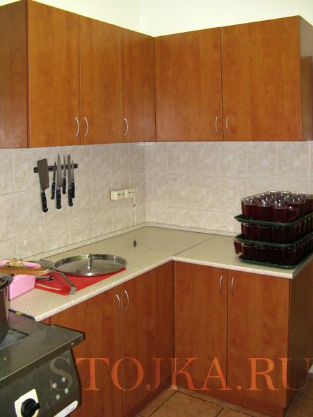 Кухня для офиса угловая